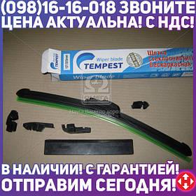 ⭐⭐⭐⭐⭐ Щетка стеклоочистителя бескаркасная 13/325мм. (с адаптерами) <Tempest>  TPS-13FL