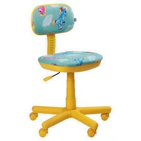Кресло детское Свити желтый Пони бирюзовый (AMF-ТМ)