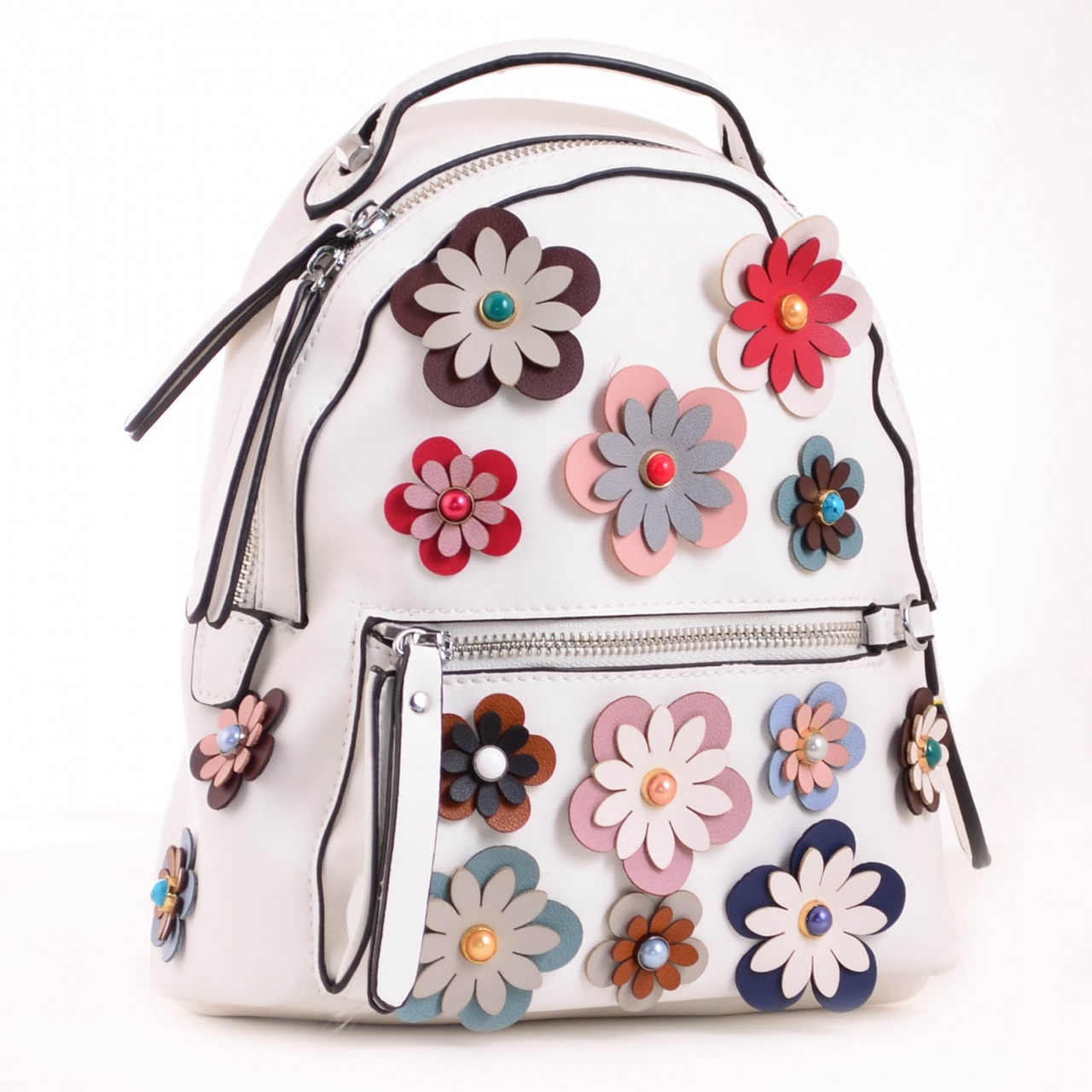 Сумка - рюкзак, белый