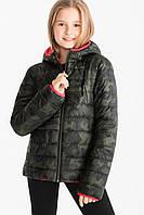 Двухсторонняя куртка осень-весна на девочку C&A Германия Размер 164