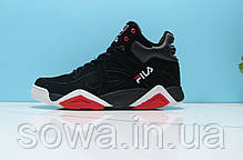 "✔️ Кроссовки Fila Vita ""Black/Red""  , фото 3"