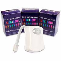 Подсветка для унитаза Lightbowl с LED + датчик движения