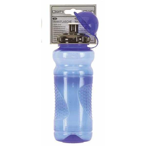 Фляга пластиковая Mighty 0,7л, голубая (A-PZ-0449)