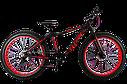 "Велосипед Titan Stalker 26"" Black-Red (широкие колеса), фото 2"