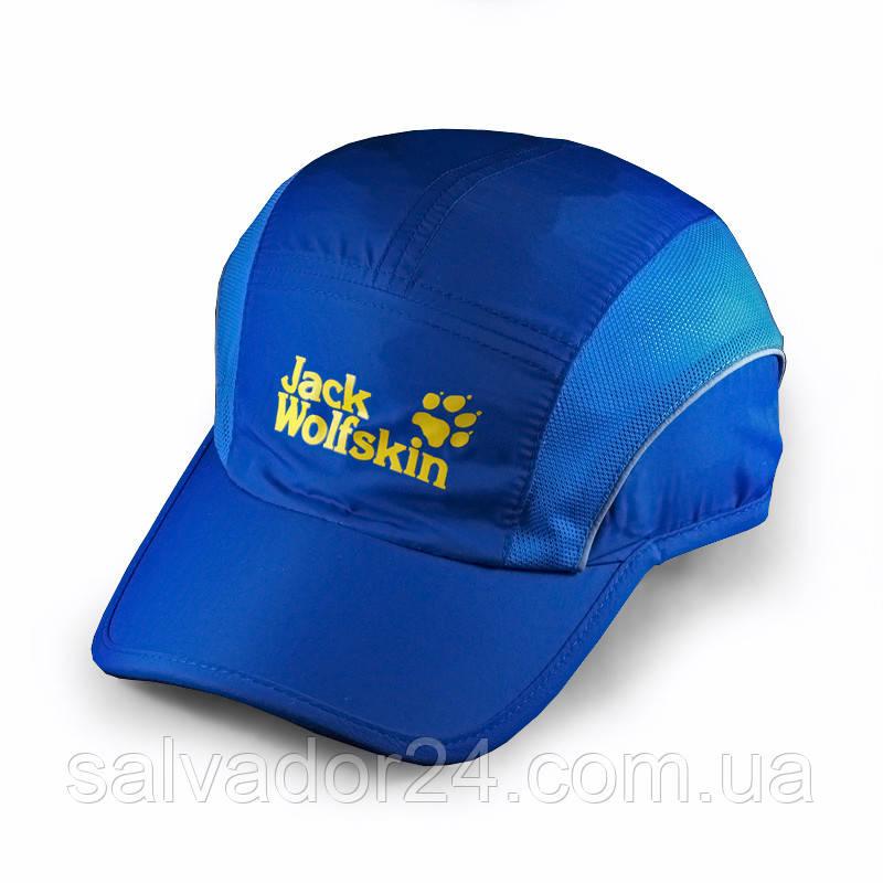 Бейсболка Jack Wolfskin Sport, влагоотталкивающая синяя кепка