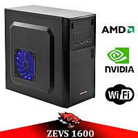 Недорогой игровой ПК ZEVS PC1600 2 Ядра 6GB RAM + GTX 550Ti 1GB +Игры
