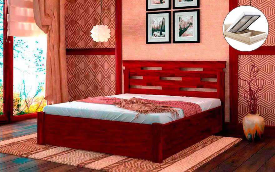 Кровать Зевс с механизмом 120х190 см. Лев Мебель