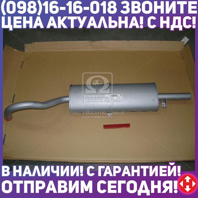 ⭐⭐⭐⭐⭐ Глушитель ВАЗ 2106 (2101,-07) закатной (производство  Ижора)  2106-1201005