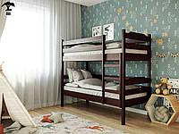 Двухъярусная кровать Милена-2 80х190 см. Лев Мебель, фото 1