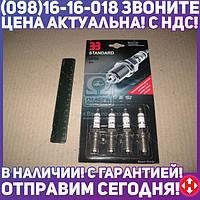 ⭐⭐⭐⭐⭐ Свеча зажигания ЭЗ LPG6 ВАЗ на ГАЗ топливе (комплект 4 шт. блистер) (производство  Энгельс)  LPG6