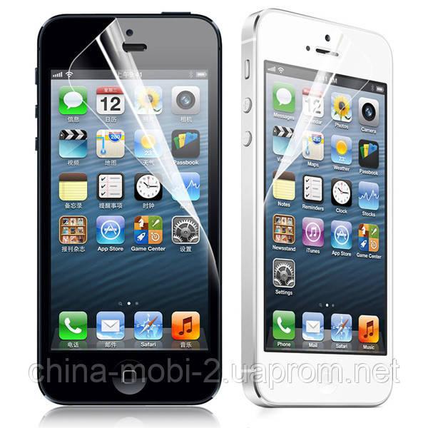 Защитная пленка  iPhone 5,