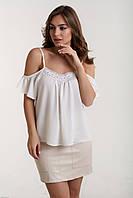 Женская блуза с открытыми плечами, фото 1
