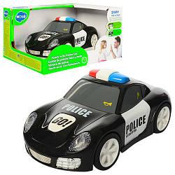 Детская машинка полиция, черная (6106A)