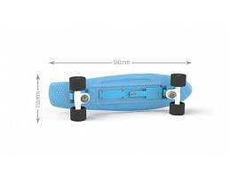 Скейт детский ТМ Doloni, голубой (0151/1)