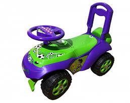 Детский автомобиль-каталка Doloni, коричневый/красный (0141/02)