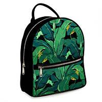 Рюкзак 3D міський чорний Пальми