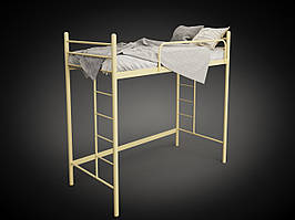 Кровать-чердак Эдельвейс Tenero металлическая, одноместная 2000х900 мм