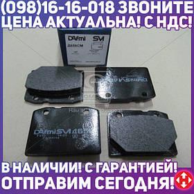 ⭐⭐⭐⭐⭐ Колодки тормозные ВАЗ 2101, 2102, 2103, 2104, 2105, 2106, 2107 передние (комплект 4шт.) (производство  Dafmi)  D656SM