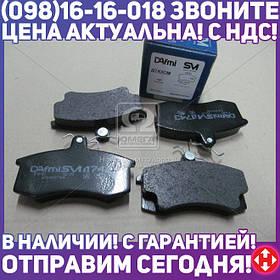⭐⭐⭐⭐⭐ Колодки тормозные дисковые  Самара ВАЗ 2108, 2110 (пр-во Dafmi)