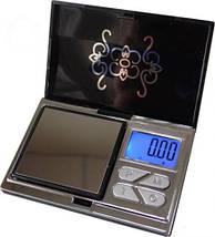 Мини ювелирные весы, атр-168 (6224ра), 200г / 0,01г,стильный дизайн, подсветка дисплея, тарирование,чехол, фото 2