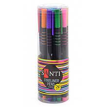 Файнлайнер цветной универсальный, толщина 0,4 мм