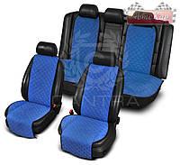 Чехлы CANTRA комплект на все сиденья с ушками ✓ цвет: синий
