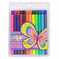 """Фломастеры 24 цвета """"Bright butterfly"""""""