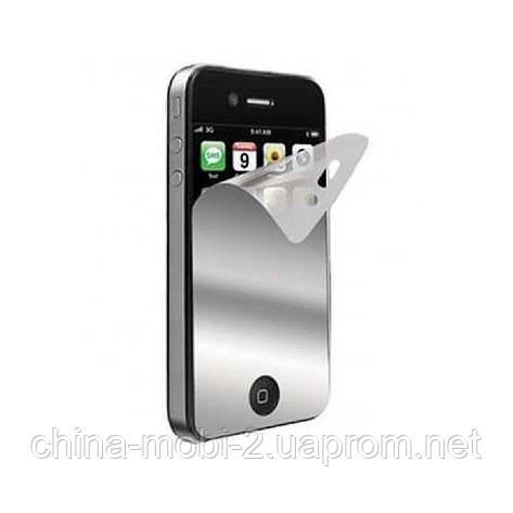 Защитная пленка  mirror iPhone 3  iPhone 3G, , фото 2
