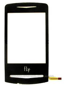 Тачскрин (сенсор) Fly E130, black (чёрный)