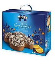 Пасхальный кулич Motta Colomba Gran Delizia all'arancia с цедрой апельсина, 750 г.