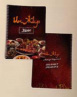 Папка меню на пружине, фото 1
