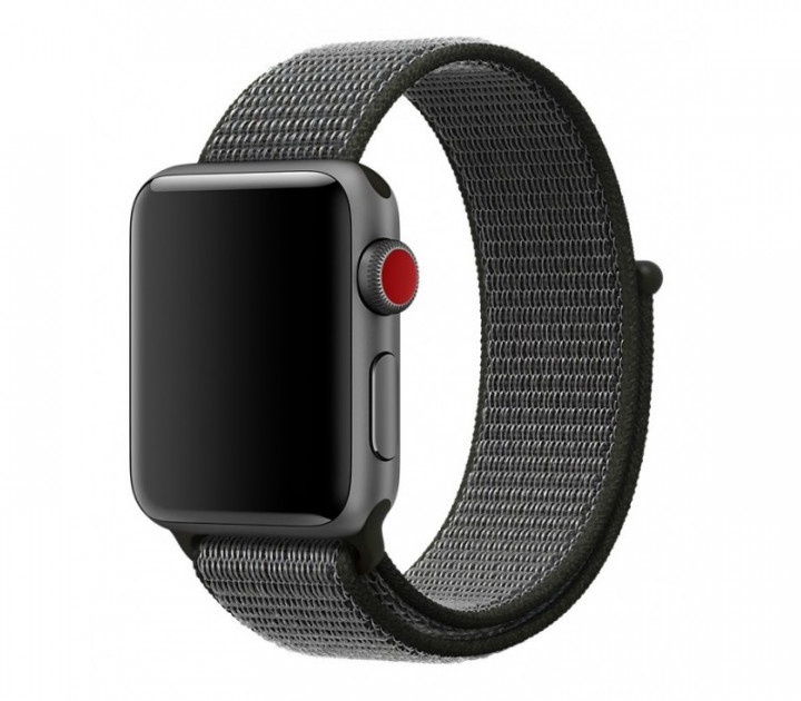 Ремешок Sport Loop OEM для Apple Watch 42/44mm Series 1/2/3/4 - Gray