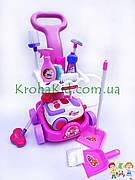 Детский набор для уборки Limo Toy A5938: тележка на колесах, пылесос 19*12,5 см звук, батар.