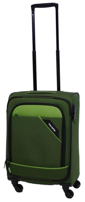 339a0e54fa12 Чемодан малый тканевый Travelite Derby TL087547-80 41 л, зеленый ...