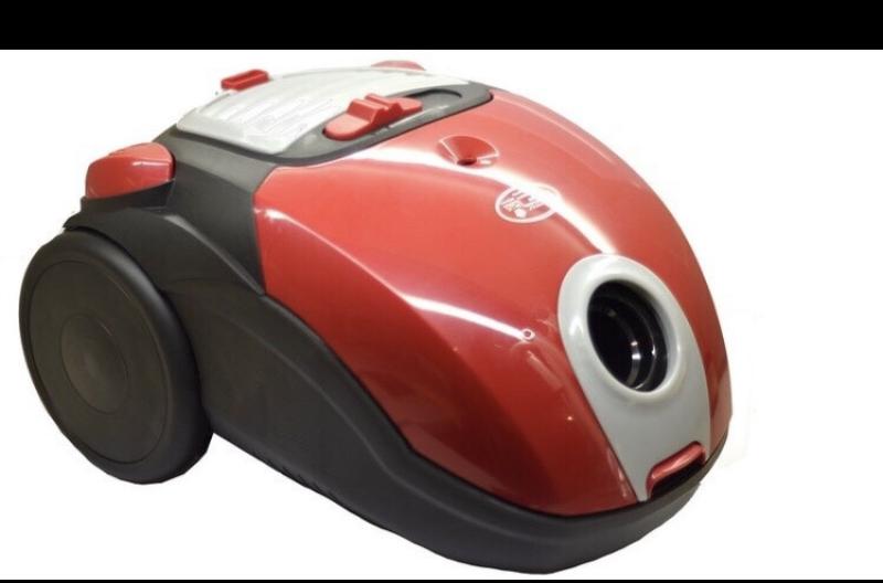 Мешковый пилосос Promotec PM-653 для сухого прибирання 2000W потужний якісний порохотяг червоний