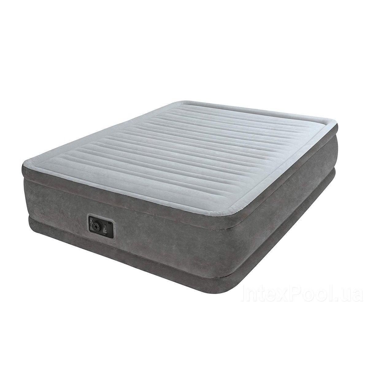 Надувная кровать Intex 64414 встроенный электронасос Двухспальная