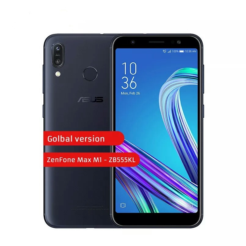 Смартфон Asus zenfone max M1 Black 2/16Gb 4000mAh 2 сим + карта Global