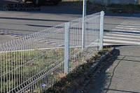 Забор из сварной сетки 1,26х2,5 ЭКОНОМ