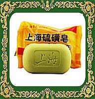 Мыло для лечения  псориаза, экземы, себореи, угрей, прыщей Sulfur Soap (Китай).