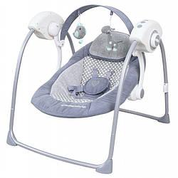 Кресло-качалка Baby Mix TY-019D Grey