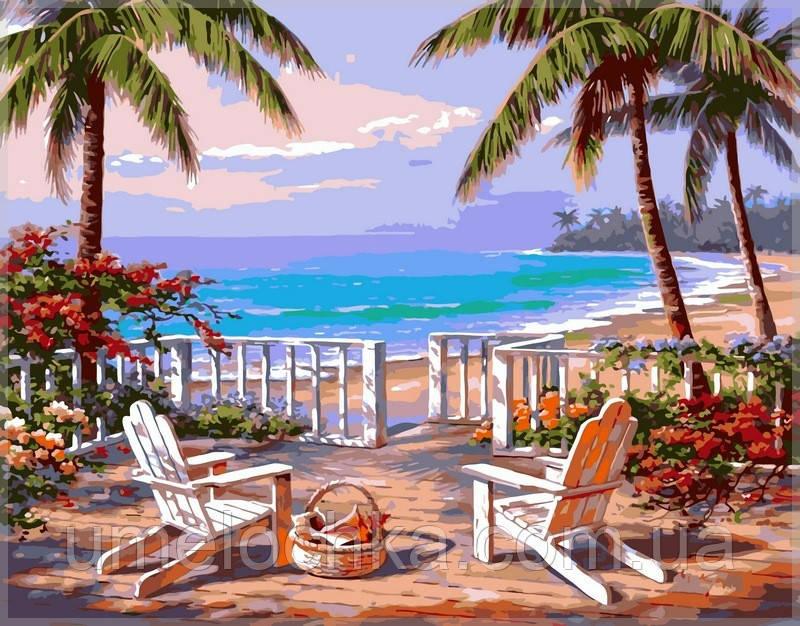Картина по номерам на холсте Babylon Пляж Анатолии