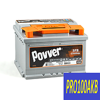 Автомобильный аккумулятор POVVER 60 Ач 600 А (1) L+