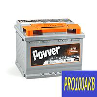 Автомобильный аккумулятор POVVER 63 Ач 650 А (0) R+