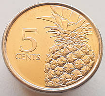 Багамы 5 центов 2016