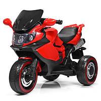 Детский электромотоцикл Bambi Красный