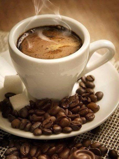 "Алмазна вишивка 40x30 см - набір ""Чашка кави еспрессо"""