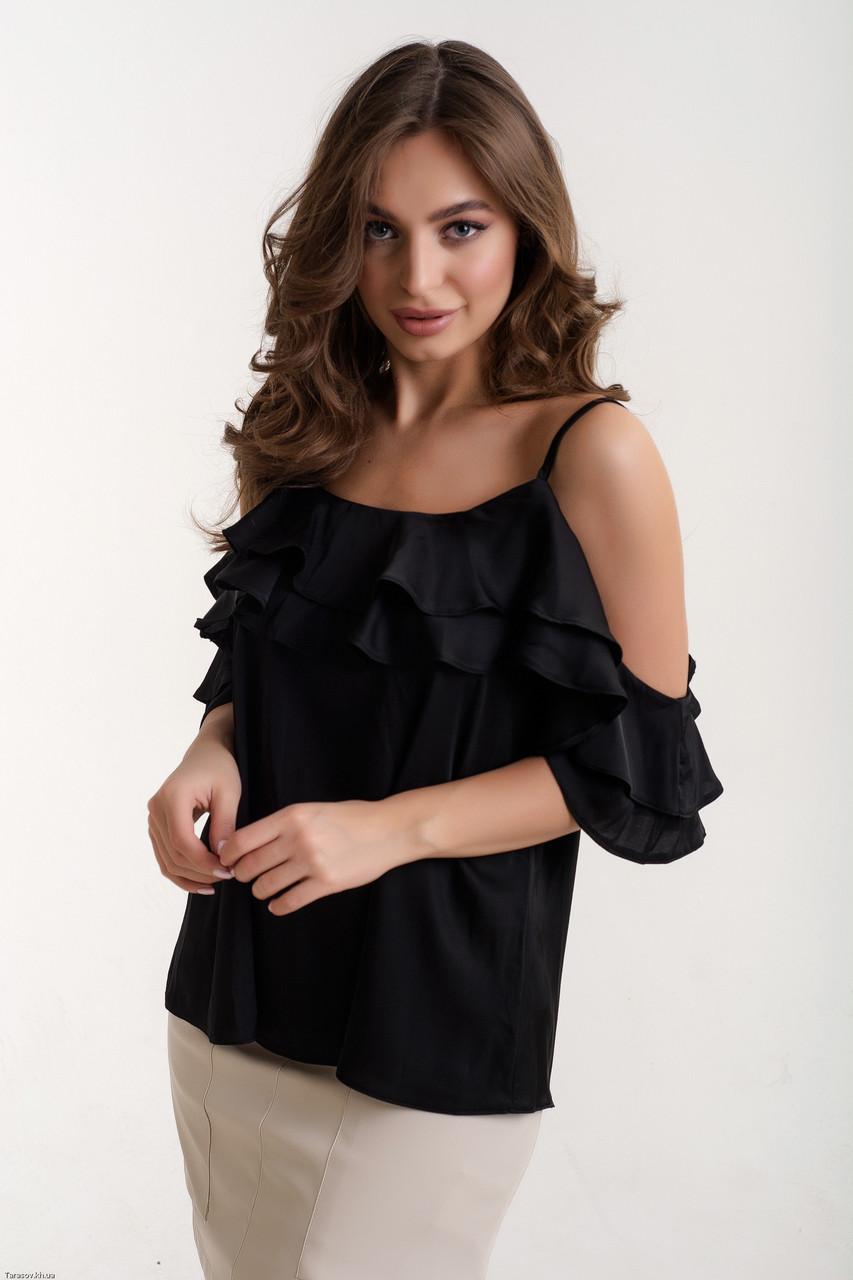 Стильная женская блуза из шелка