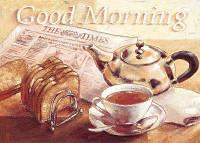 """Алмазная вышивка 40х30см - набор """"Good morning"""""""
