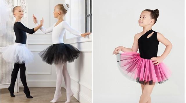 Фатиновая юбка-пачка на девочку на танцы и гимнастику фото