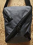 Барсетка супер молния Новый стиль мессенджер 600d для через плечо(только ОПТ), фото 2